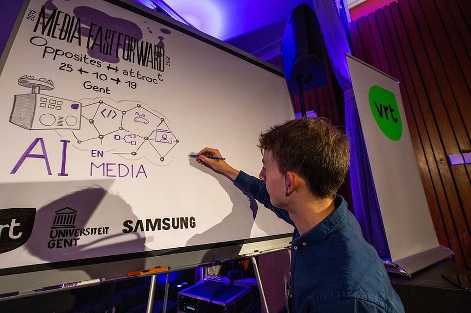 Graphic recording for national public broadcaster