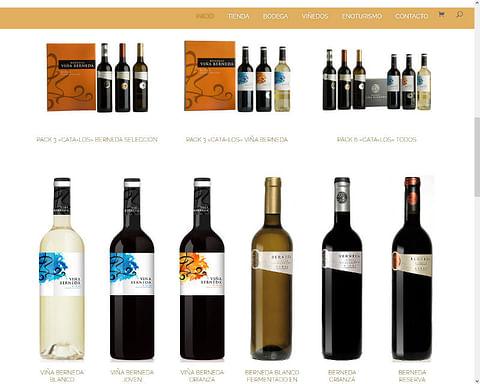 Tienda Online - Ecommerce - Bodega de Rioja
