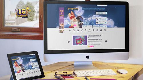 Plopsa.be website - Mobile App