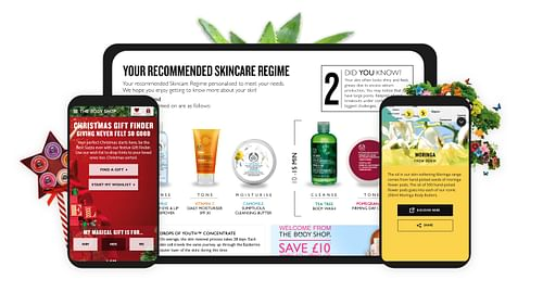 THE BODY SHOP - Website Creation
