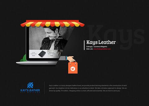 Magento Ecomerce Website Design for Kays Leather