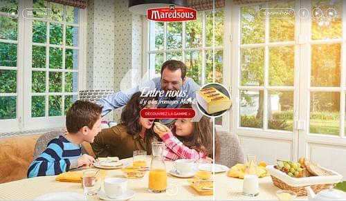 Maredsous website - Publicité