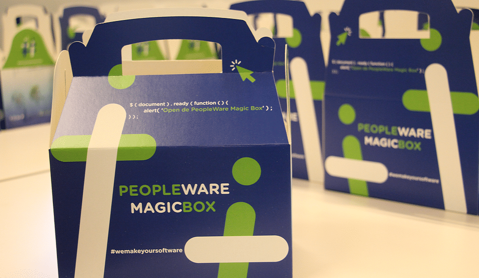 Peopleware: We make your software