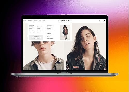 ELEVEN PARIS | site e-commerce - Website Creation