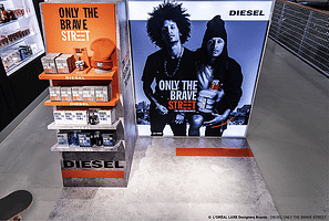 DIESEL - ONLY THE BRAVE - Merchandising