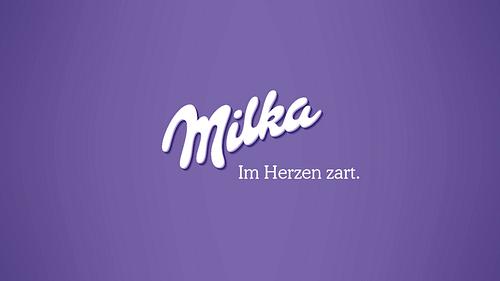 Milka - Collage - Grafikdesign