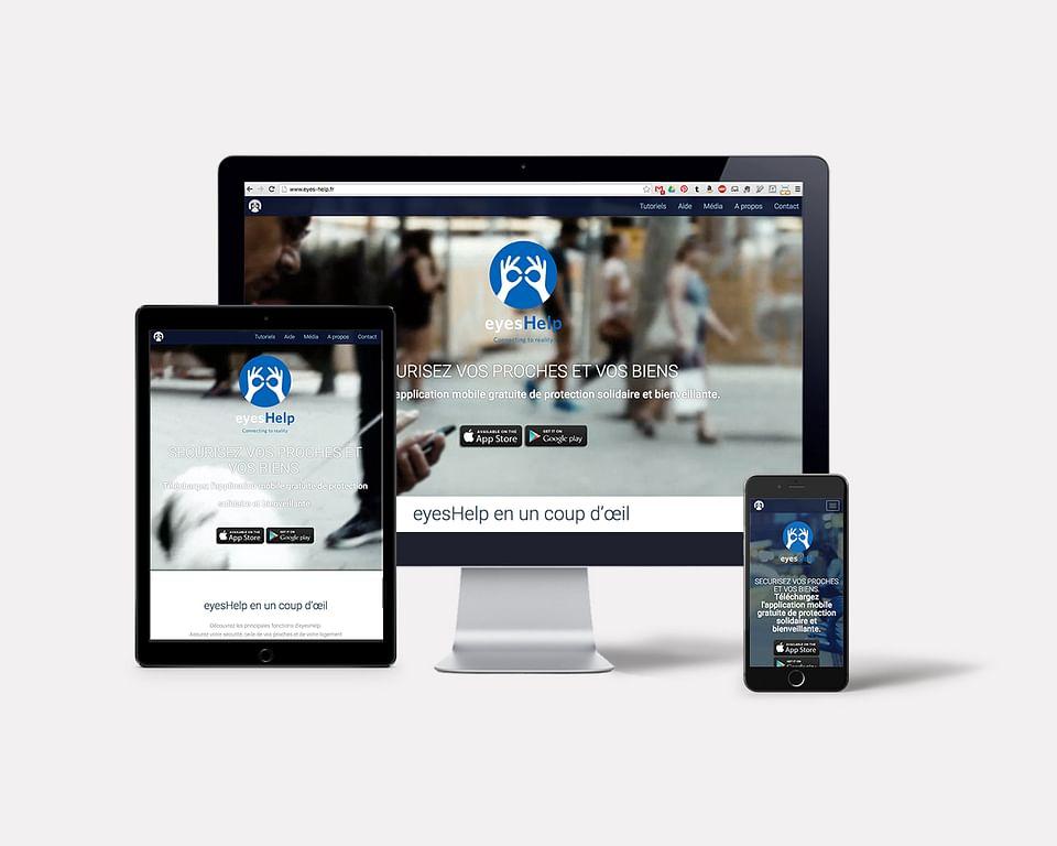 eyesHelp I Website