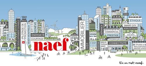 Accompagnement marketing Naef Immobilier - Stratégie de contenu