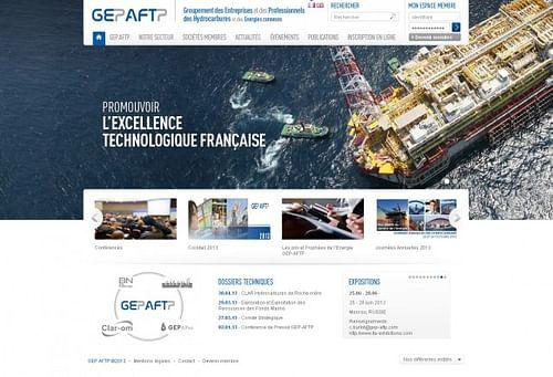 GEP AFTP - Création de site internet