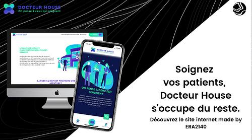 Docteur House pour le groupe Sodexo - Création de site internet