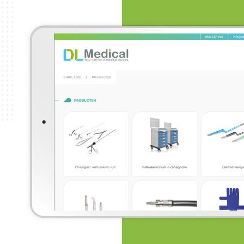 DL Medical - Website Creatie