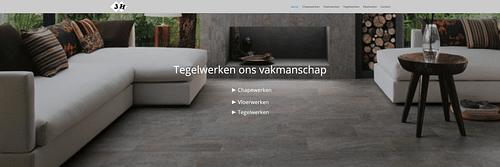 Tegelwerken Haesevoets - Website Creatie