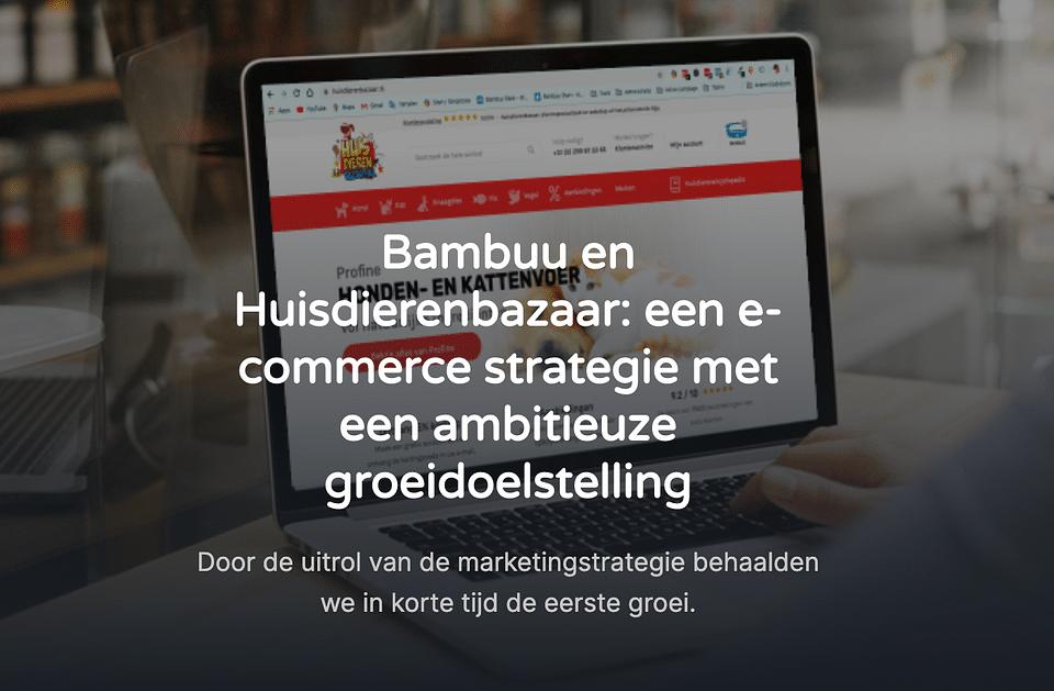 E-commerce strategie met ambitieuze groeiambities