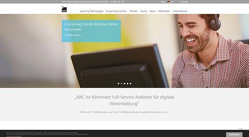 IMC Information Multimedia Communication AG - Webanwendung