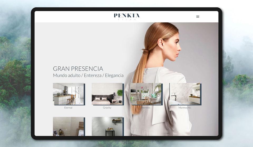Rediseño web / Catálogo cerámica