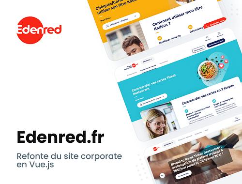 Edenred.fr | Site Web - Création de site internet