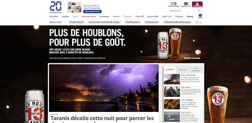 GUINNESS : lancement première bière blonde - Publicité