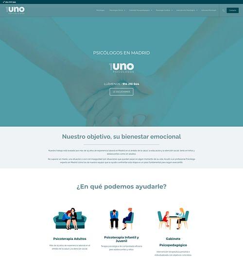 Branding y Diseño web Clínica Psicología - Branding y posicionamiento de marca