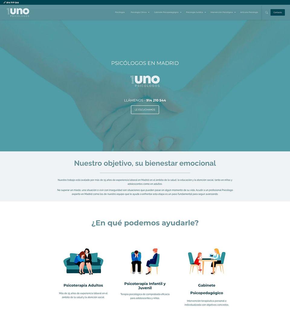 Branding y Diseño web Clínica Psicología
