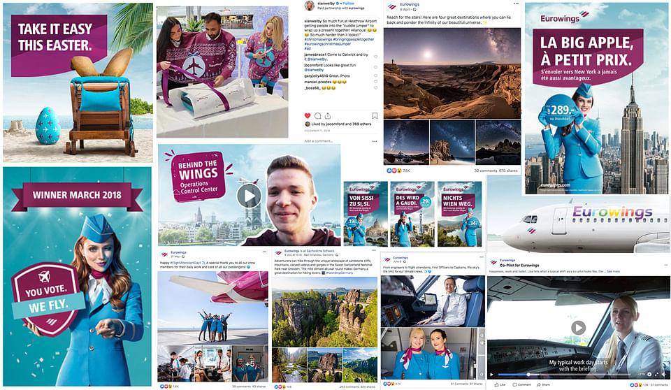 Eurowings International Social Media