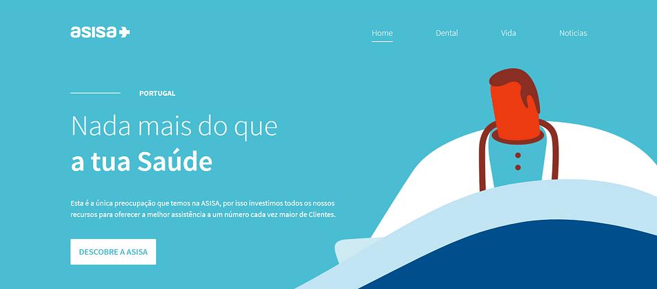 Sitio web comercial para corporate