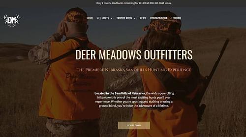 Outfitter Website - Website Creation