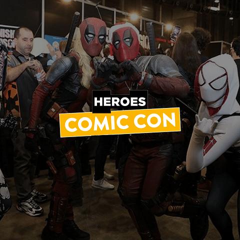 Comunicación y marketing para Héroes Comic Con