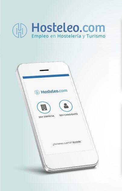 Aplicación móvil Hosteleo - App móvil