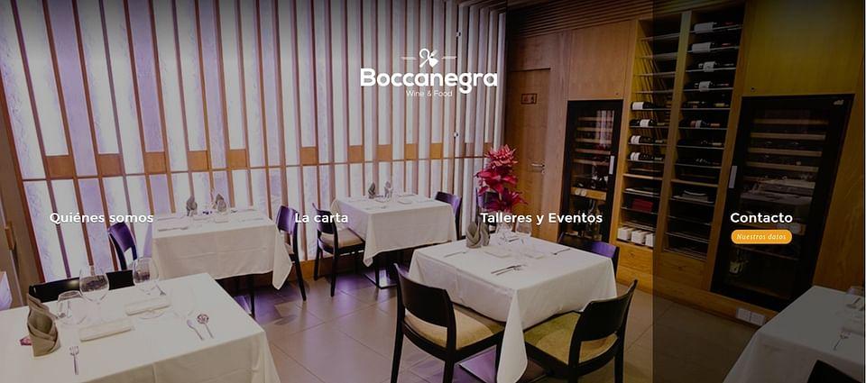 Desarrollo web restaurante