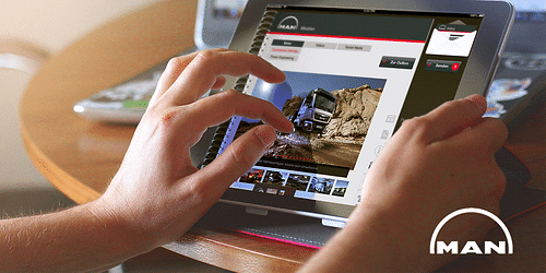 MAN News App für Journalisten - Mobile App
