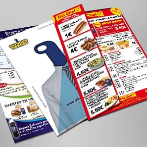 Impresión de folletos publicitarios - Diseño Gráfico