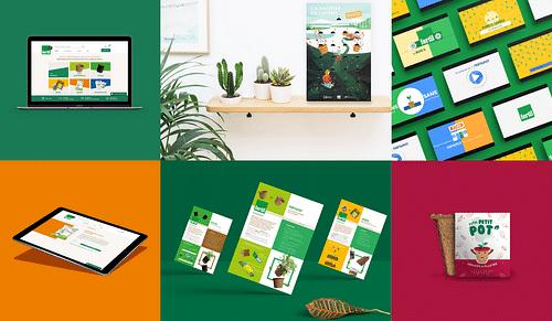 Plan de communication - lancement de produit - Création de site internet