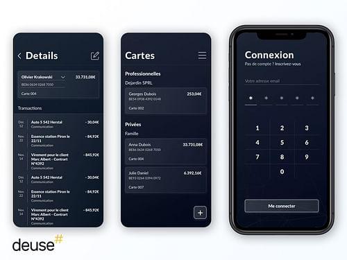 Application mobile de transactions bancaires - Mobile App