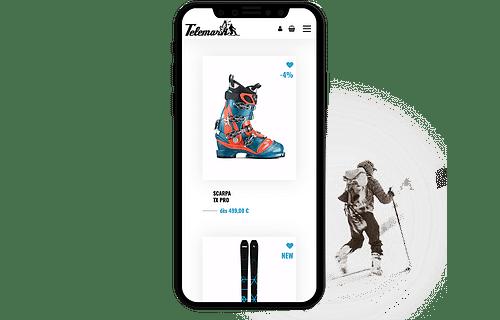 Un multisite e-commerce pour un distributeur sport - E-commerce