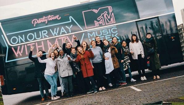 Mtv music week partytour - Incentive