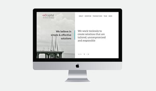 O3 Capital Website Design - Website Creation