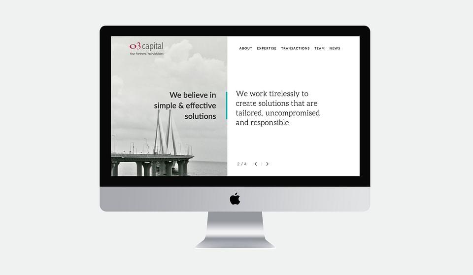 O3 Capital Website Design
