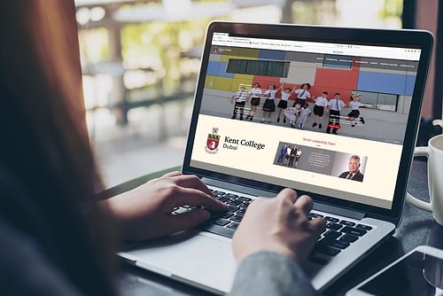 Kent College Dubai Website - Website Creation