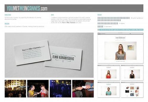 YOUMETMEINCANNES.COM - Advertising