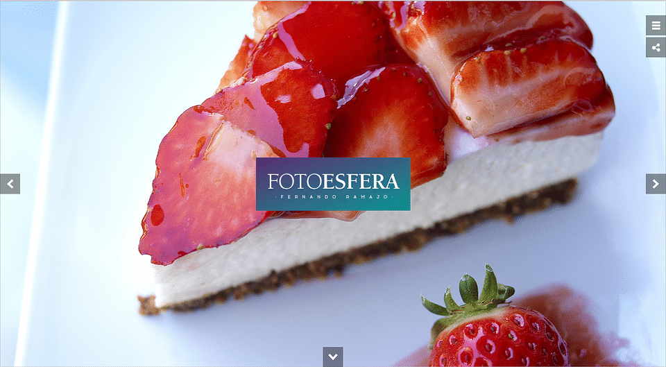 Website Estudio FOTOESFERA
