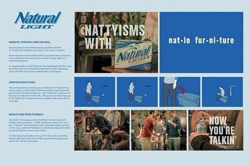 NATTYISMS - NATIO FURNITURE - Branding & Positioning