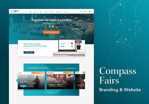 Compass Fairs / Dinstand - Creación de Sitios Web