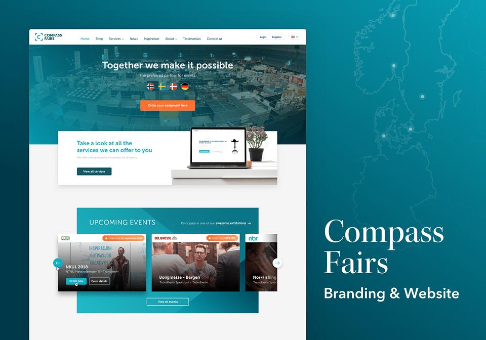 Compass Fairs / Dinstand