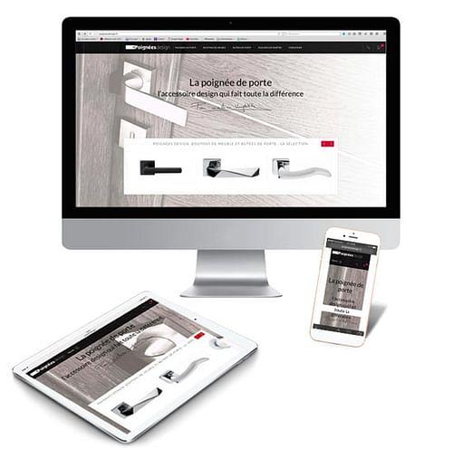Création du site e-commerce poigneesdesign.fr - Création de site internet