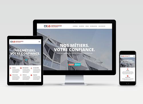 Website design et développement pour CILG BTP. - Création de site internet