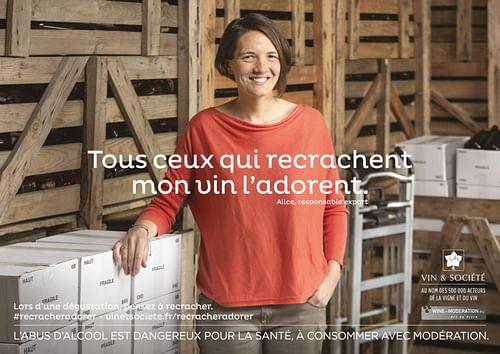 """VIN & SOCIETE -  """"Mieux Consommer"""" - Publicité"""