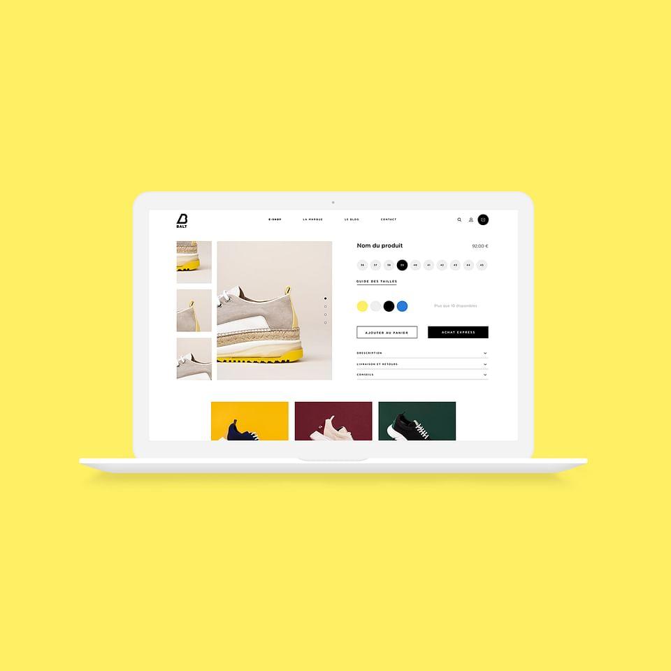 BALT - Shopify Website