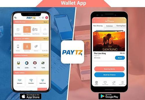 PaytZ - Wallet App - Mobile App