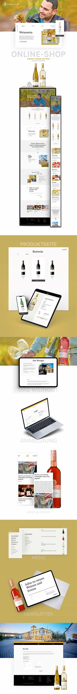 Weingut Eulenmühle - Website Creation
