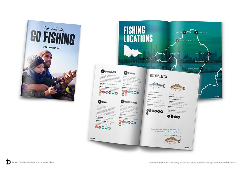 Get Outside, Go Fishing booklets